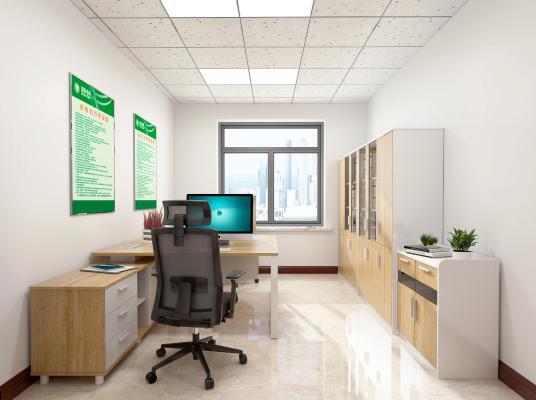 现代办公室 办公室 办公桌