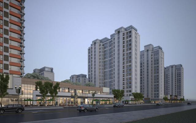 现代风格住宅区