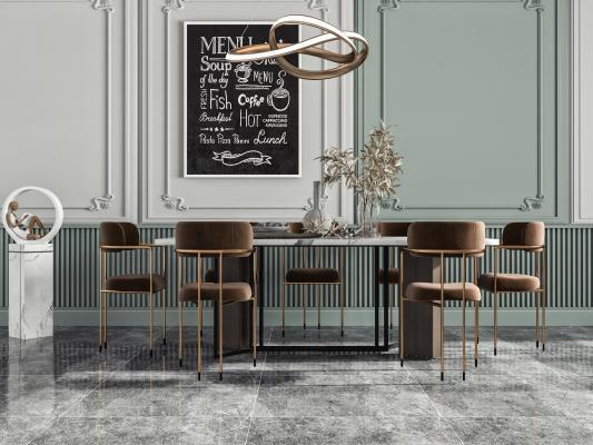 �F代餐桌椅 吊��