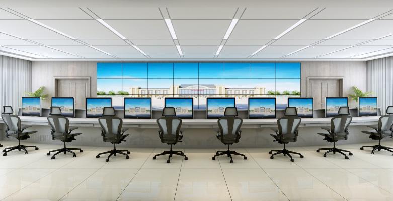 现代调度室 控制室
