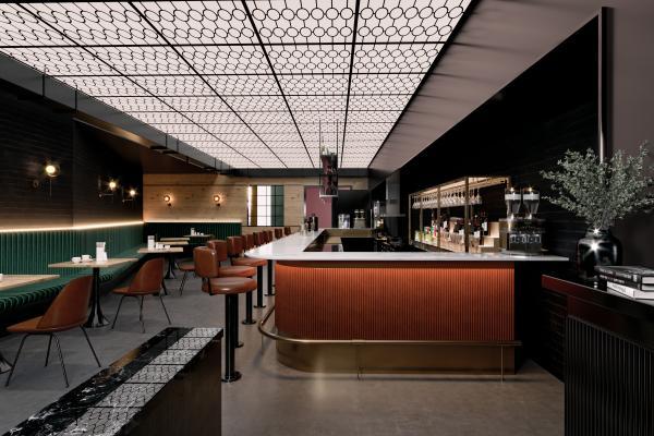 现代咖啡休闲厅