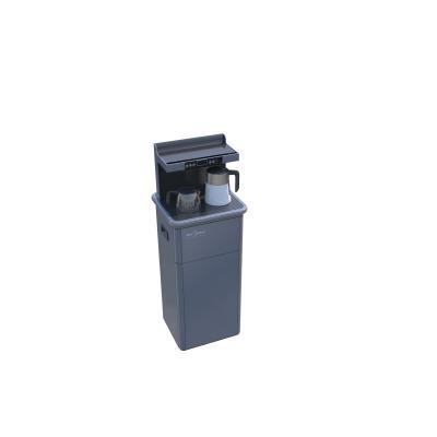 欧式金属质感茶吧机 蓝灰色饮水机