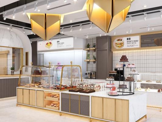 現代蛋糕甜品店