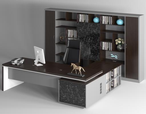 现代办公室桌椅 老板桌椅 总裁桌椅