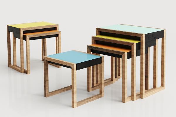 现代实木凳子