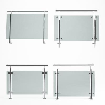 现代玻璃护栏