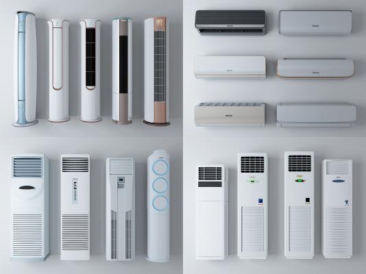 现代空调 柜式空调 挂式空调
