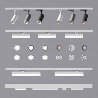 現代筒燈射燈 軌道燈