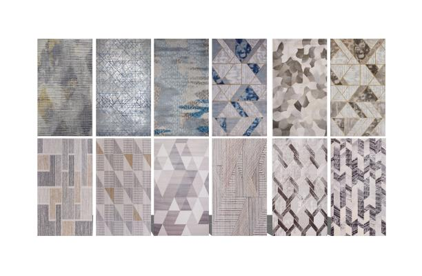 现代地毯组合