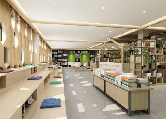 现代图书馆 书店
