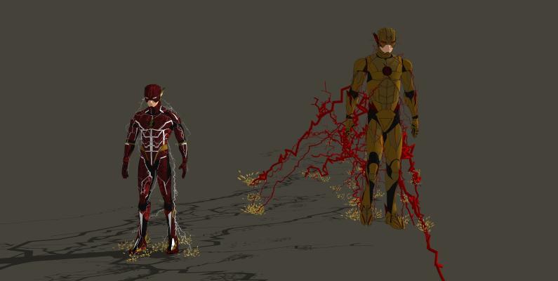 玩具 DC英雄 闪电侠 闪电 英雄