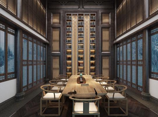 新中式茶楼