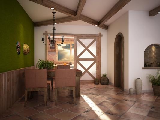 地中海餐厅 吊灯