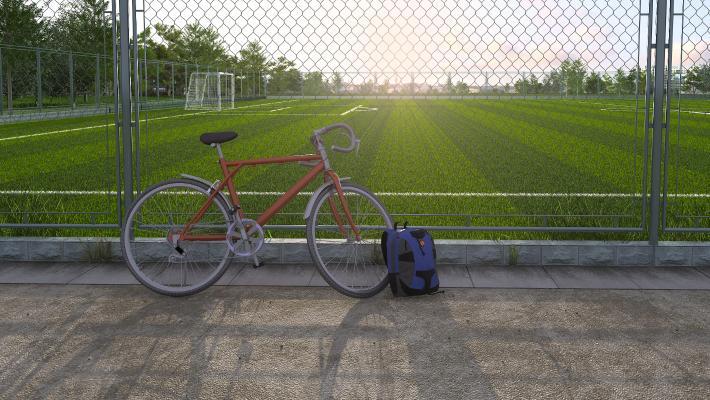 现代足球场