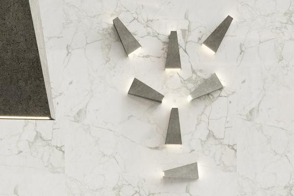 工业风水泥壁灯