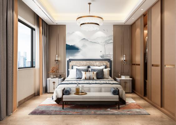 新中式臥室 老人房