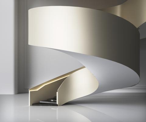 現代弧形樓梯