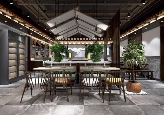 新中式餐厅 吊灯