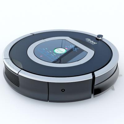 现代智能扫地机器人
