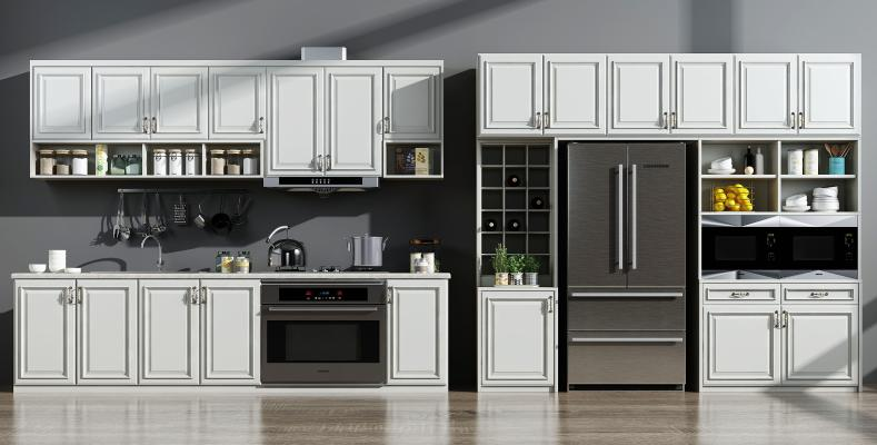 欧式厨房橱柜设备