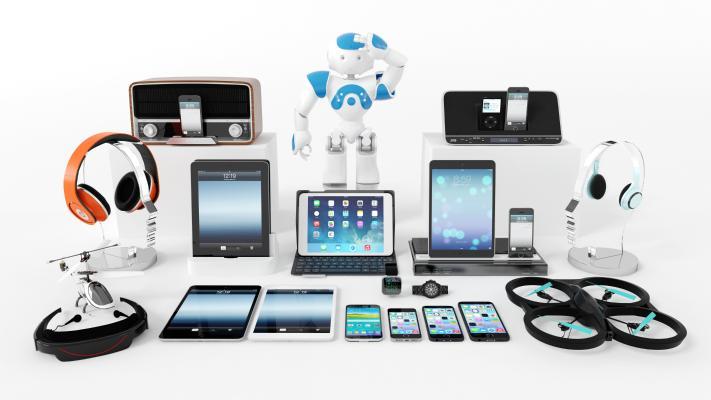 现代数码产品 电子产品 电子组合