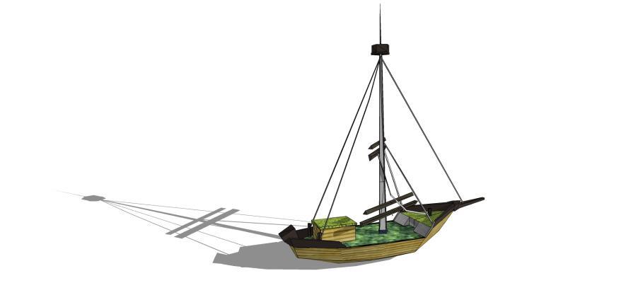 现代游乐设施 海盗船