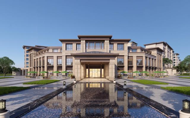 新古典商业住宅