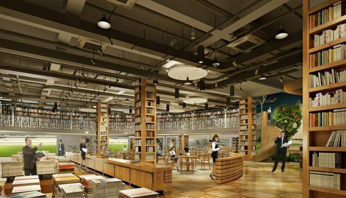 现代图书馆 大型书店