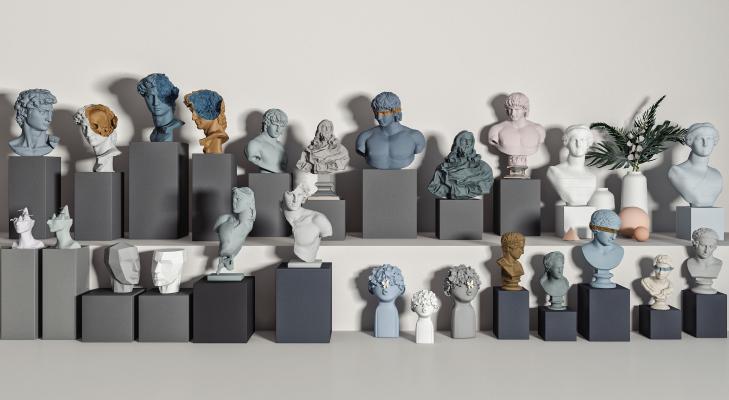 欧式雕塑 石膏雕塑 雕像
