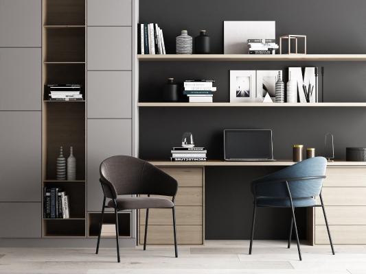 现代书桌椅