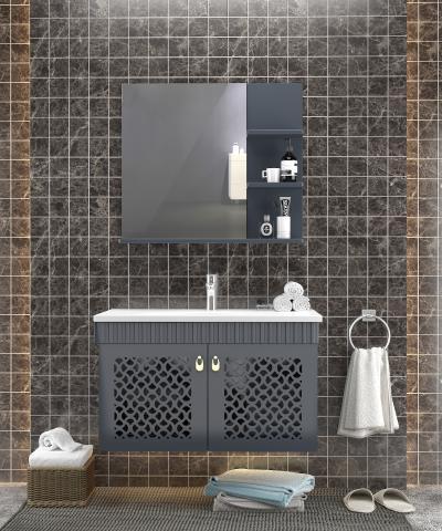 现代简约浴室柜