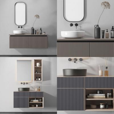 現代浴室柜組合
