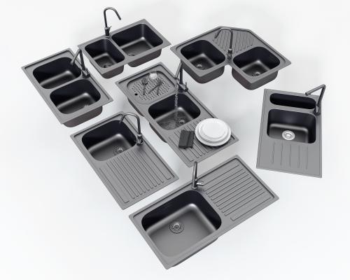 现代水槽 洗菜盆