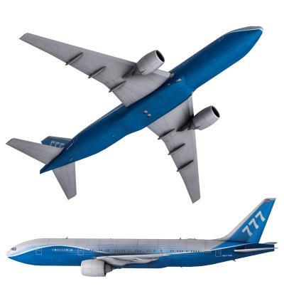 现代波音客机 飞机