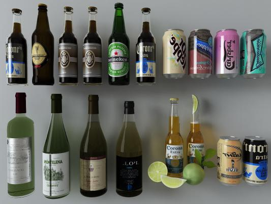 现代酒饮料组合