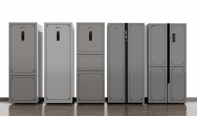 新中式冰箱冰柜