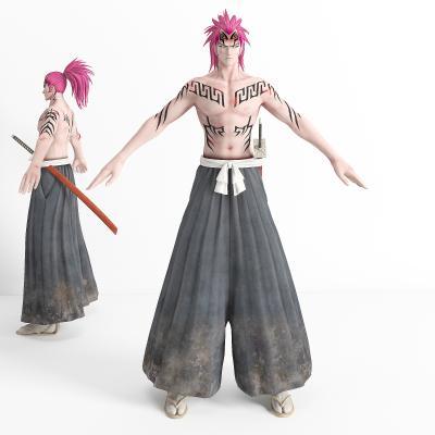 游戏角色 虚拟人物