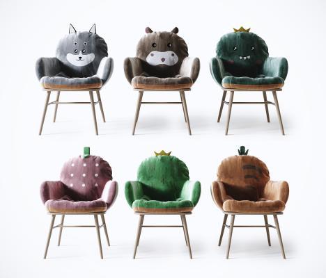 现代儿童椅