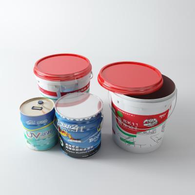 现代油漆桶 涂料