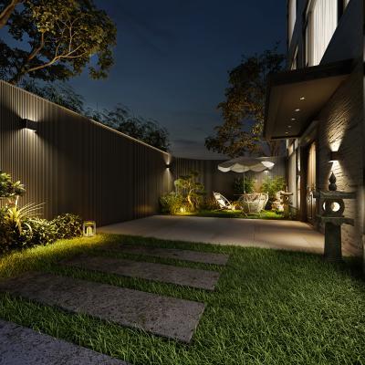 现代露台花园
