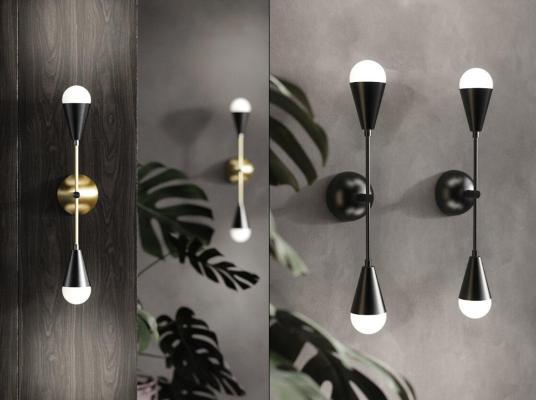 現代 壁燈