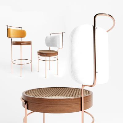 现代轻奢吧椅 餐椅 单椅