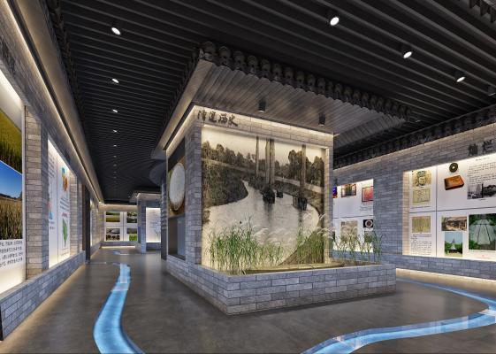 新中式文化馆 博物馆 展馆