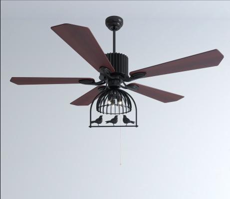 现代风扇灯