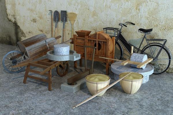 现代风农具
