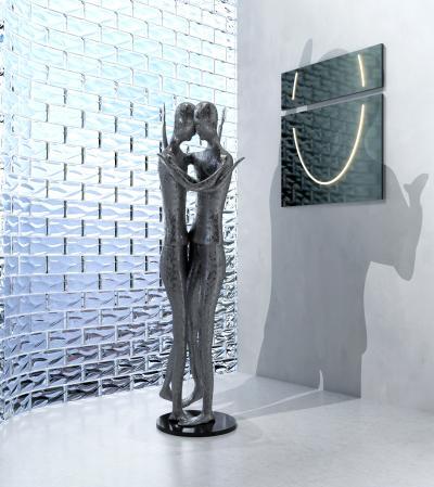 现代创意艺术人物雕塑