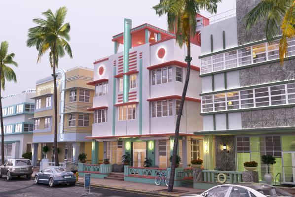 东南亚室外建筑