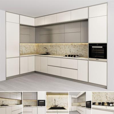 现代橱柜 厨房用品