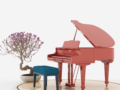 现代乐器 钢琴