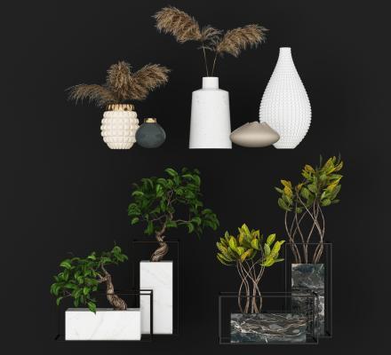 北欧现代装饰花瓶 装饰摆件 装饰品